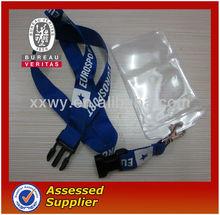Hot sale OEM cheap ego customized lanyards id badge holder,lanyard id