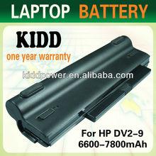 Promotional model HSTNN-XB87 Laptop Battery for HP Pavilion dv2-1000 DV2 series Buy Battery
