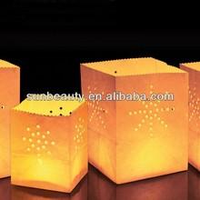 Popular China illuminating candle bags Party Supply