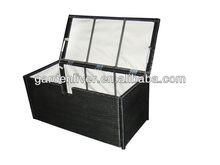 rattan outdoor storage box