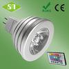 RGB 3w 5w e27 gu10 MR16 3w rgb led downlight