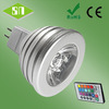 RGB 3w 5w e27 gu10 MR16 3w rgb led downlight