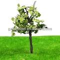 Escala de alambre de hierro galvanizado de la hoja verde del árbol de arce modelo para la construcción de la arquitectura de diseño/decoración