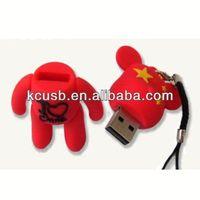 cartoon usb mini fan disk