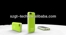 Newest for iPhone5C battery cases; portable power bank for iPhone 5C
