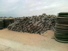 scrape rubber tire