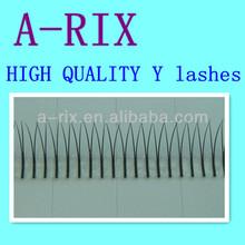 eyelash factory high quality Y individual flare eyelash