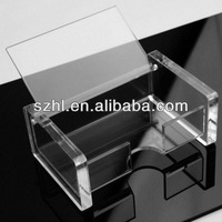 Table name card stand acrylic name stand with lid