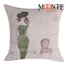 Custom Printed Felt Cotton and Linen Cushion Covers