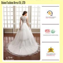 sexy-short-front-long-back-wedding-dress