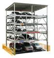 proyecto electrónico simple para el coche del garaje de estacionamiento