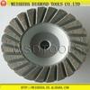 115mm Diamond Aluminium Cup Wheel Grinder