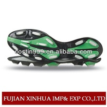 Famous football/soccer shoes sole/outsole