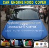 COCO Life advertising Car Bonnet Cover
