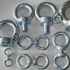 towing eye bolts grade 4.8/6.8/8.8/10.9/ A2/ A4 plain/black/zinc/HDG