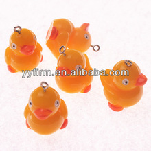 Resin Duck Pendants 29*21mm for Chunky Jewelry, 2014 Brand New
