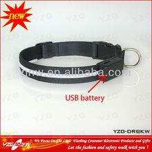 New design cheap dog collars YZG-DR series USB led dog collars