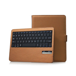 for iPad5 Wireless Bluetooth keyboard leather case