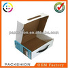 Hot sale custom fruit corrugated box packaging with handle