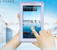 capacitive touch screen Android 4.2 Dual Core MTK6577 7 inch Hot sales very cheap phone call tablet pc with sim card slot