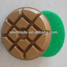 China manufacturer supply high quality granite polishing pads