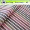 Stripe yarn dyed cotton fabric for garment