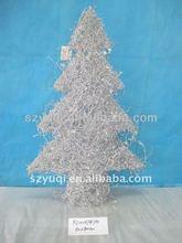 prety christmas metal snowflake ornament