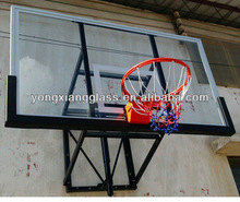 basketball coaching board backboard with matal ring Basketball board