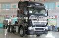 Sinotruck howo a7 6x4 trator e reboque cabeça caminhão/10 wheelers