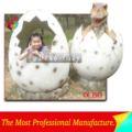 น่ารักของเล่นไข่ไดโนเสาร์สำหรับสวนสนุก