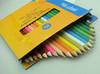 """24pcs color pencil in paper box set,7"""" color pencil,high school quality"""