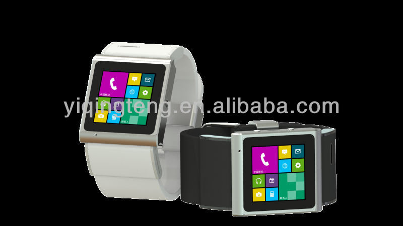 2013 hot Christma's gift GSM & WCDMA android smart watch phone EC309