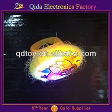 yellow bird led silicon ring