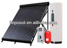 2014 EN12975 certificated split solar water heater system