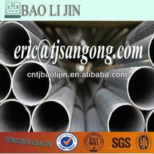 pre-galvanized steel pipe stell price