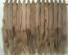 dark blond slavic hair