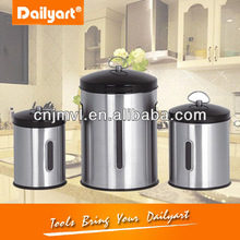 Elegant small metal tea canister(CE RoHS)
