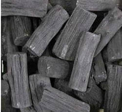 High calorific value Lump charcoal for Barbecue (BBQ).