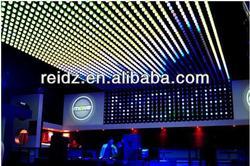 bar and night club decoration flexible dot matrix video led display