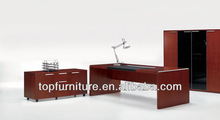 Wooden Office Furniture Solid Cherry Wood Desk