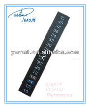 Cheap aquarium/pet house liquid crystal thermometer/thermometer strips