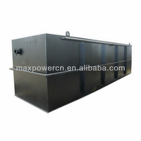 package integration waste water treatment plant