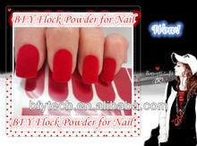 2013 Super Seller of Velvet flock powder nail supplies
