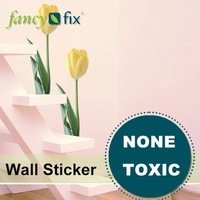 home decoration wall art static cling wall decal