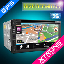"XTRONS 6.95"" touch creen 2 din dvd player dynamic UI multimedia Car PC multimedia entertainmet GPS/wifi/3g/bluetooth/radio/IPOD"