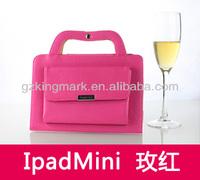 Portable Top Leather Case HandBag For iPad Mini Tablet