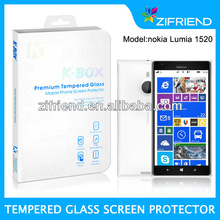 Tempered Glass Screen Protector for Nokia Lumia 1520, lowest price&grade AA