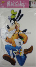 Hot sale Cartoon characters removable pvc sticker