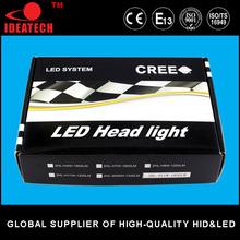 Hot sale car h4 led headlight bulbs led car headlight and led car headlight kit
