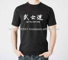 """""""kanji"""" T shirt made in jaoan"""